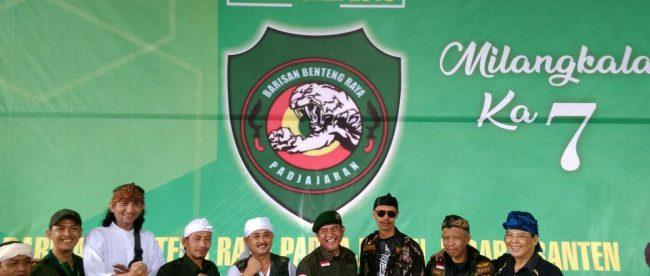 Perayaan Milangkala Ke-7 ormas BBRP di GOR Pajajaran, Kota Bogor, Minggu 28/10/2018 (dok. KM)
