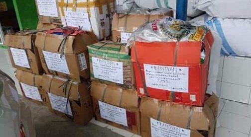 Bantuan Anak Rantau Kabupaten Mandailing Natal (Madina) Asal Bogor Untuk Musibah Banjir Bandang Di Kabupaten Mandailing Natal Sumatera Utara (dok. KM)
