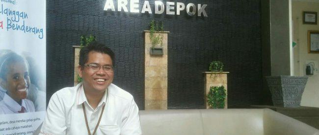 Agung Wicaksono, Bagian Pemasaran dan Pelayaan Pelanggan UP3 Depok