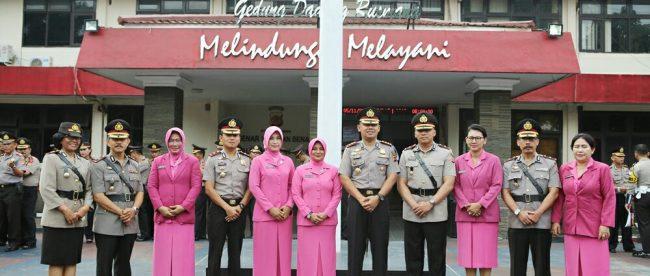 Rotasi Kapolsek Leuwiliang, Cijeruk, Jonggol, dan Cibinong di Jajaran Polres Bogor (dok. KM)