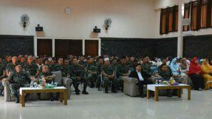 Peringatan Maulid Nabi Muhammad SAW di Korem 061/SK, Kota Bogor, Senin 26/11/2018 (dok. KM)