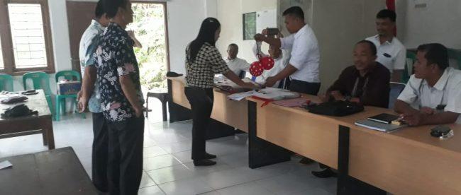 Penetapan calon kepala desa jelang Pilkades di Desa Loloana'a Lolomoyo, Gunungsitoli, Sabtu 3/11/2018 (dok. KM)