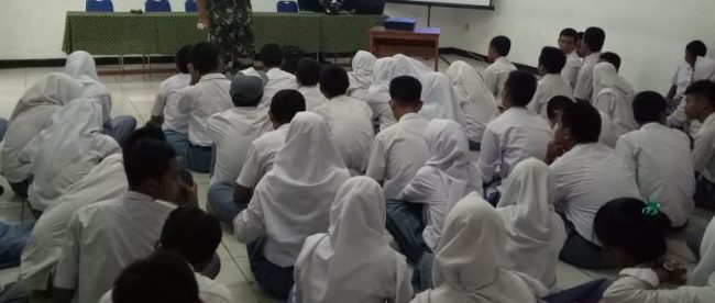 Pelatihan LDKS di SMK Negeri 4 Kota Bogor, Sabtu 3/11/2018 (dok. KM)
