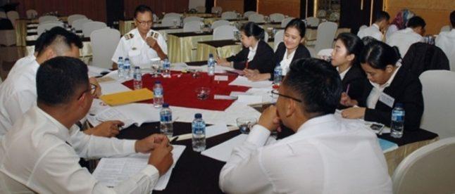 Peserta Uji Kompetensi/Sertifikasi Pelaku Usaha Akomodasi Kabupaten Bogor, 12/11/2018 (dok. KM)