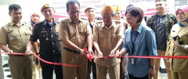 Peresmian Aula Perumahan Kompleks ABRI Veteran Kelurahan Lawang Gintung (dok. KM)