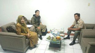Ketua DPC PWRI Kabupaten Bogor saat bersama Sekdis DKP Kabupaten Bogor (dok. KM)