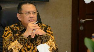 Ketua DPR RI Bambang Soesatyo menanggapi berbagai proyek keberhasilan GDAD yang dijalankan BNN di Aceh, pada Minggu 21/4/2019.
