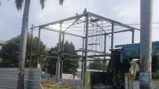Gedung yang belum memiliki IMB di Perumahan Duta, Kelurahan Harapan Baru, Kecamatan Bekasi Utara, Kota Bekasi (dok. KM)