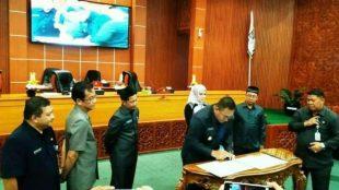DPRD Kota Depok Gelar Rapat Paripurna Persetujuan Terhadap Rancangan KUA PPAS Tahun Anggaran 2020 (dok. KM)