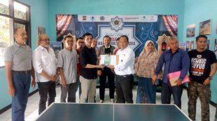 Kunjungan pengurus PWI Jawa Barat ke Sekretariat PWI Kota Bogor, Rabu 14/8/2019 (dok. KM)