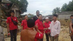 KPTB Saat Memberikan Bantuan Ke Kampung Urug Kecamatan Sukajaya Kabupaten Bogor (dok. KM)