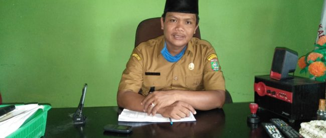 Kepala Desa Sei Dua Hulu, Kecamatan Simpang Empat, Asahan, Sumardi Nasution (dok. KM)
