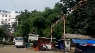 Kondisi Terminal Baranangsiang, Kota Bogor, saat wabah pandemi covid-19 (dok. KM)