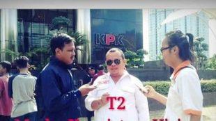 Ketua Umum Lembaga Swadaya Masyarakat (LSM) Aliansi Masyarakat Transparansi Indonesia (AMTI), Tomi Turagan (dok. KM)