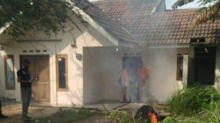 Rumah AA, tersangka pelaku penganiayaan dan penyekapan di Parungpanjang (dok. KM)