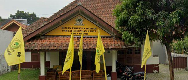 Kantor DPD Partai Golkar Kota Bogor (dok. KM)