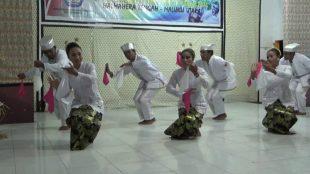 Tarian Lalayon asal Halmahera Tengah (dok. KM)