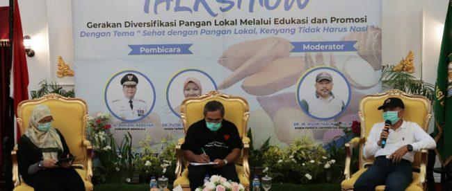 Talkshow Ketahanan Pangan Nasional Bengkulu Jum'at (18/09/2020)