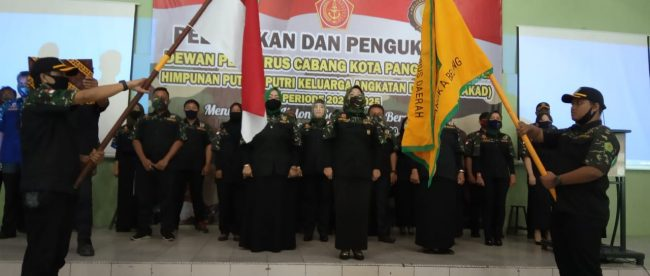 Pelantikan pengurus HIPAKAD Kota Pangkalpinang, Sabtu 26/5/2020 (dok. KM)