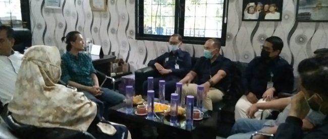 Kunjungan Direksi Perumda PPJ Kota Bogor ke Sekretariat PWI Kota Bogor (dok. KM)