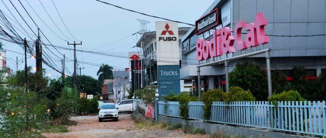 Showroom Mitsubishi di Bekasi Timur (dok. KM)