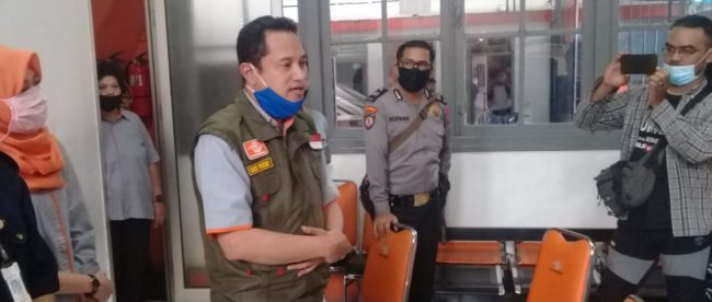 Kepala Kantor Pos Bogor, Bagus Muhammad Yusuf (dok. KM)