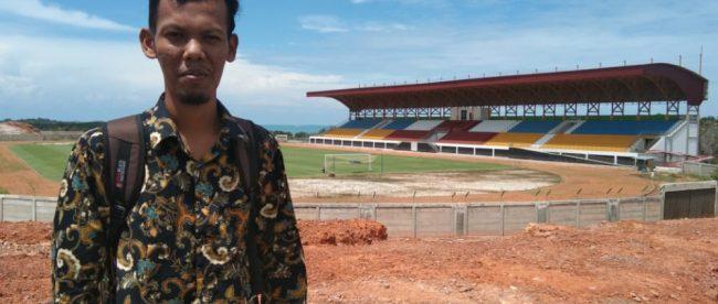 Muhardi, Mahasiswa Universitas Maritim Raja Ali Haji Riau asal Pasaman Barat, Sumatera Barat