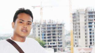 Ketua Komite Mahasiswa Pemuda Peduli Kota (KOMPAK) Tanjungbalai, Ramadhan Batubara (dok. KM)
