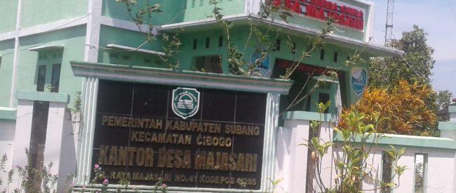 Kantor Desa Majasari, Kec. Cibogo, Subang (dok. KM)