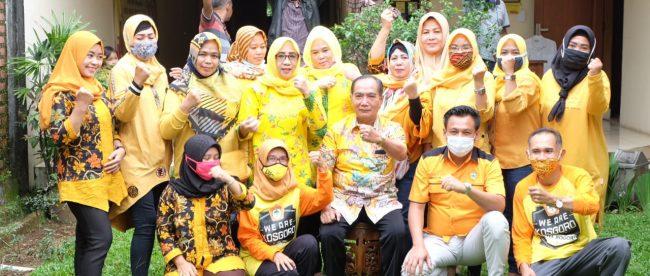 PDK Kosgoro 57 Kota Bogor Rayakan HUT Partai Golkar Ke-56, Selasa 20/10/2020 (dok. KM)