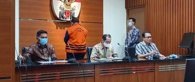 KPK Tahan Walikota Tasikmalaya periode 2017-2022 dalam kasus dugaan suap pengurusan DAK TA 2018, Sabtu 24/10/2020 (dok. Hari Setiawan Muhammad Yasin/KM)