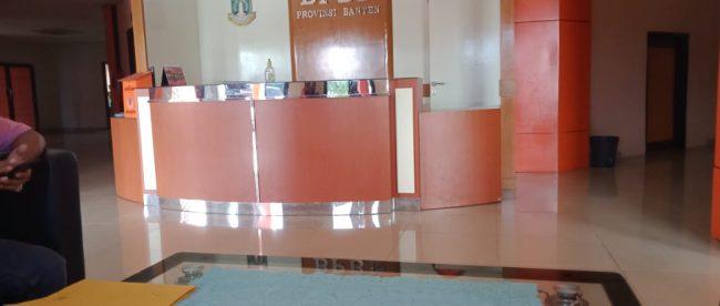 Kantor Dinas BPBD Provinsi Banten (dok. KM)