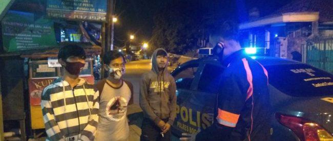 Patroli malam jajaran Polsek di wilayah Polresta Bogor Kota, 5/10/2020 (dok. KM)