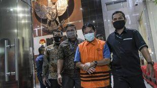 Tersangka korupsi SKPD Kabupaten Bogor Rachmat Yasin (RY) (Dok. Hari Setiawan Muhammad Yasin/KM)