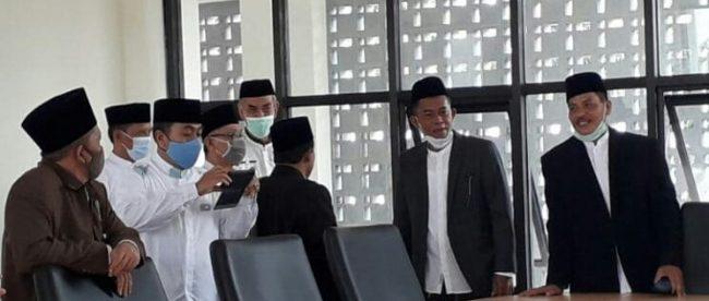 Bupati Subang Ruhimat pada acara Hari Santri Nasional 2020, Jumat 16/10/2020 (dok. KM)