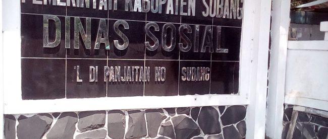 Dinas Sosial Kabupaten Subang, Jawa Barat (dok. KM)