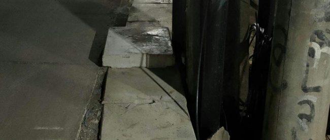 Pekerjaan saluran air menggunakan U-ditch di Jl. Cikiwul - Pangkalan 2 Bantar Gebang, Kota Bekasi (dok. KM)