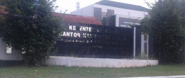 Kantor Kemenag Kabupaten Subang (dok. KM)