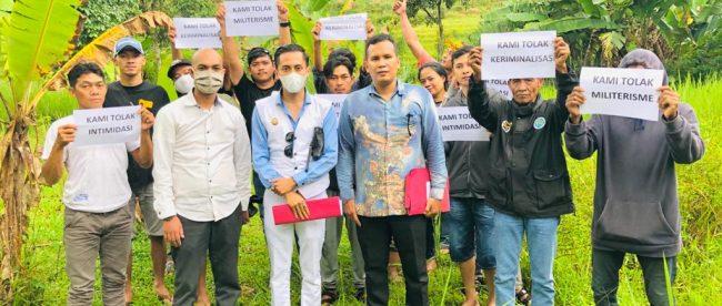 Warga penggarap Blok Alas di Kecamatan Cigombong, Kabupaten Bogor (dok. KM)