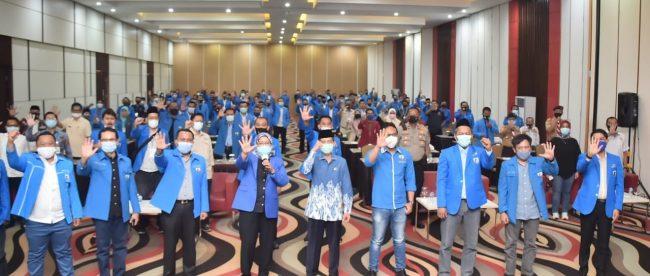 Rakerda DPD KNPI Kabupaten Bogor di Hotel Lorin Sentul, Babakan Madang, Rabu pagi 28/10/2020 (dok. Hari Setiawan Muhammad Yasin/kupasmerdeka.com)