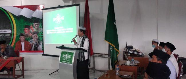 Madrasah Kader NU Ke-2 di Ponpes Al Falakiyah, Kota Bogor, Jumat 30/10/2020 (dok. KM)