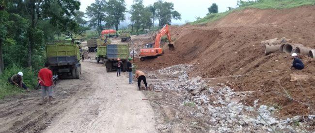 Pembangunan Jalur Puncak 2 (dok. KM)