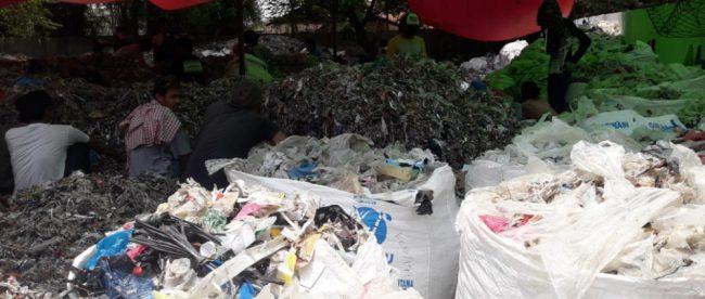 Bank sampah di Desa Kali Jaya, Kecamatan Cikarang Barat (dok. KM)