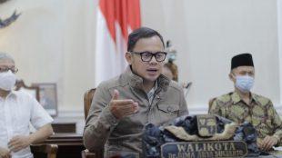 Wali Kota Bogor Bima Arya di Balaikota Bogor, Sabtu 21/11/2020 (dok. KM)