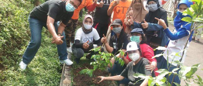 Giat GTP ke-247 di bilangan Menteng, Kota Bogor, Minggu 1/11/2020 (dok. KM)
