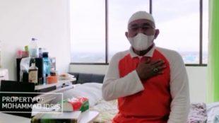 Calon Wali Kota Depok Mohammad Idris di ruang karantina RSUD Depok (dok. KM)