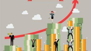 Ilustrasi kenaikan indeks investor Bengkulu
