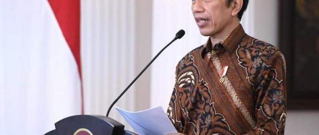Presiden Joko Widodo resmi membuka Musabaqah Tilawatil Quran (MTQ) tingkat Nasional ke-28 Tahun 2020 secara virtual, Sabtu 14/11/2020 (dok. Setpres)
