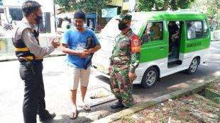 Polsek Bogor Tengah saat Operasi Yustisi Gaktibplin, Sabtu 7/11/2020 (dok. KM)