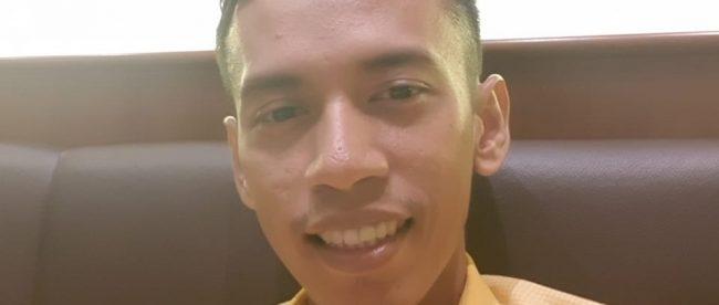 Mantan Bendahara DPD Partai Golkar Kota Bogor, Reflianosa (dok. KM)